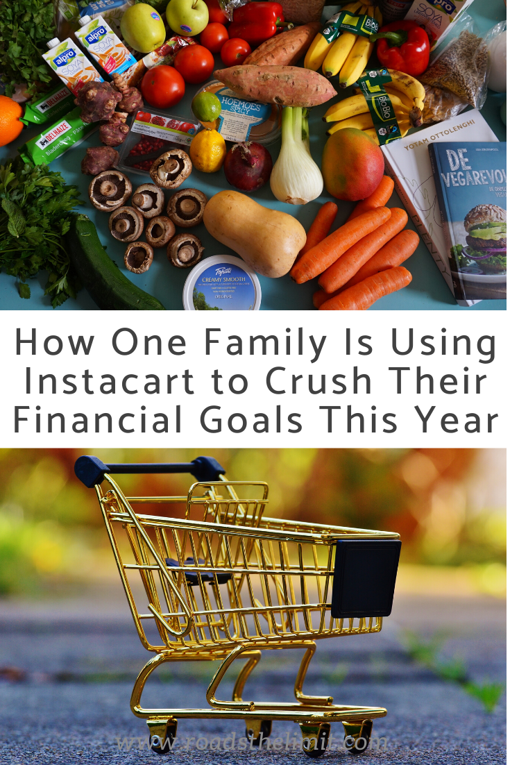 How We Are Using Instacart To CRUSH Our Financial Goals This Year